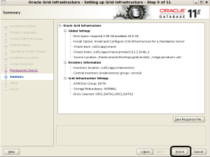 Oracle Enterprese Linux uzerine Oracle Grid Infrastructure 11g R2 Kurulumu