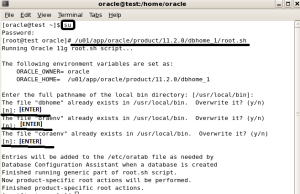 Red Hat Linux Uzerine Oracle Grid Infrastructure ile ASM mimarisi ile Oracle 11g R2 Kurulumu