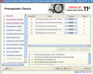 oracle data integrator agent installation