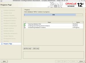 oracle 12c database installation on linux