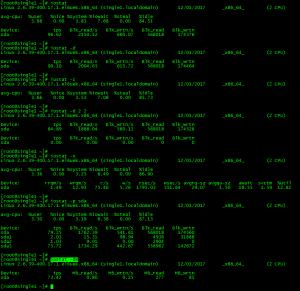 Linux iostat komutu