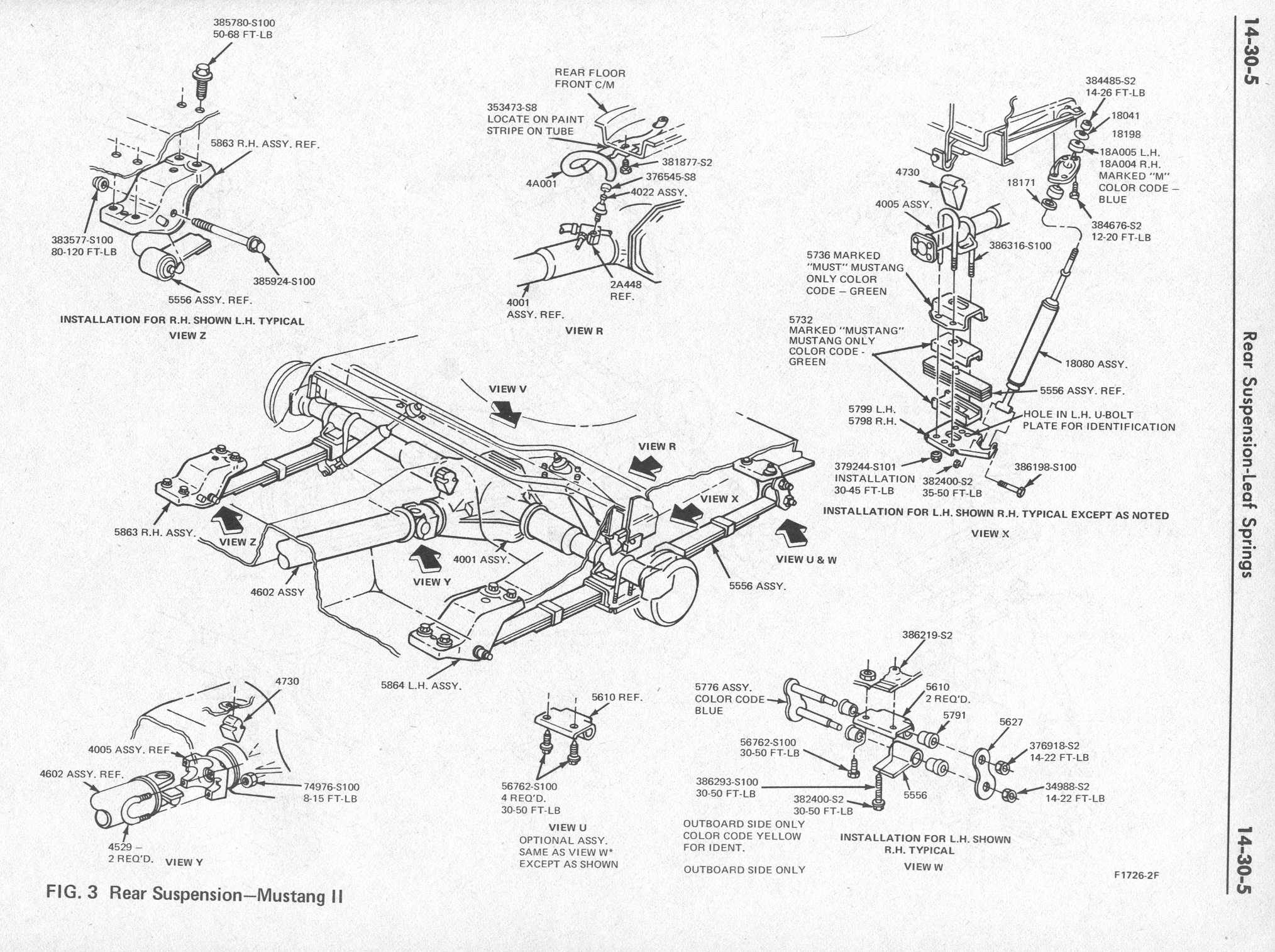 Ford F250 Rear Suspension Diagram