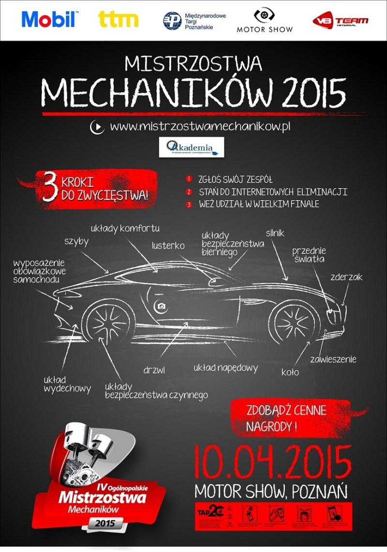 Mistrzostwa Mechaników 2015 - plakat (mini)