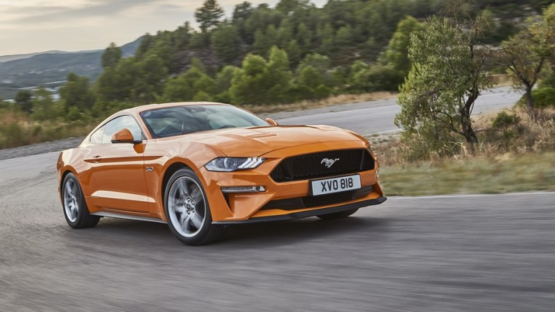 Ford Mustang facelifting 2018