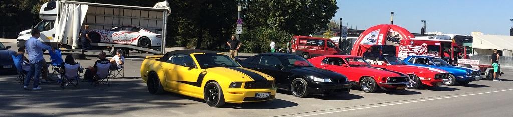Mustangi na Verva Street Racing 2017