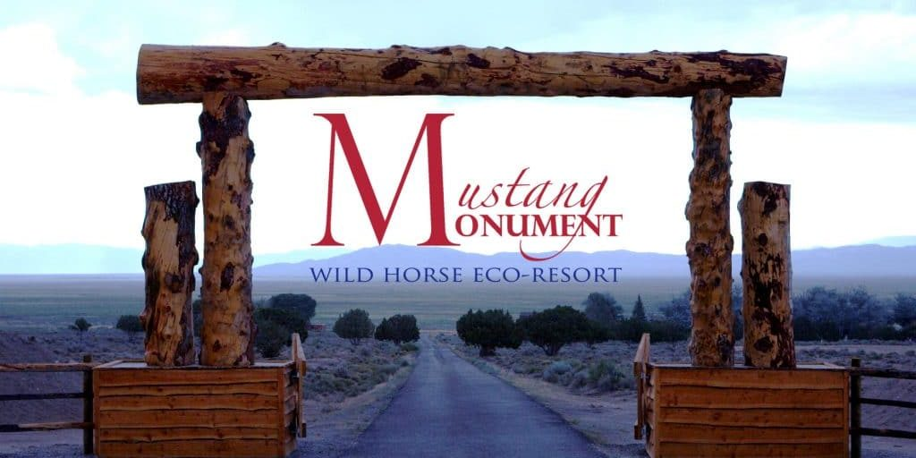 Mustang Monument Entrance