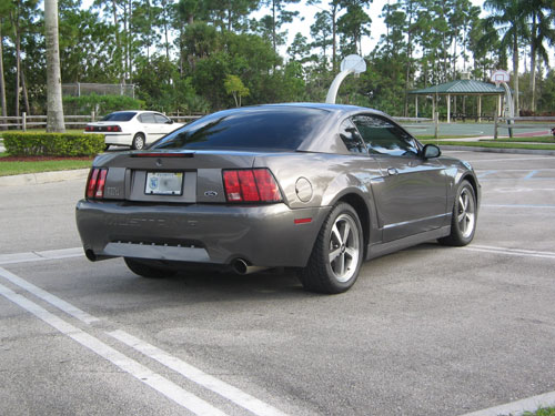 2003 Shadow Gray Mustang Mach 1