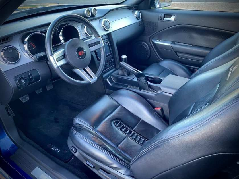 2006 Ford Mustang Saleen S281 Extreme Convertible interior