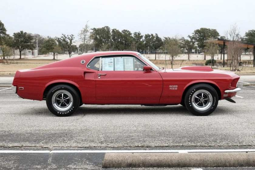 1969 Ford Mustang Boss 429 side
