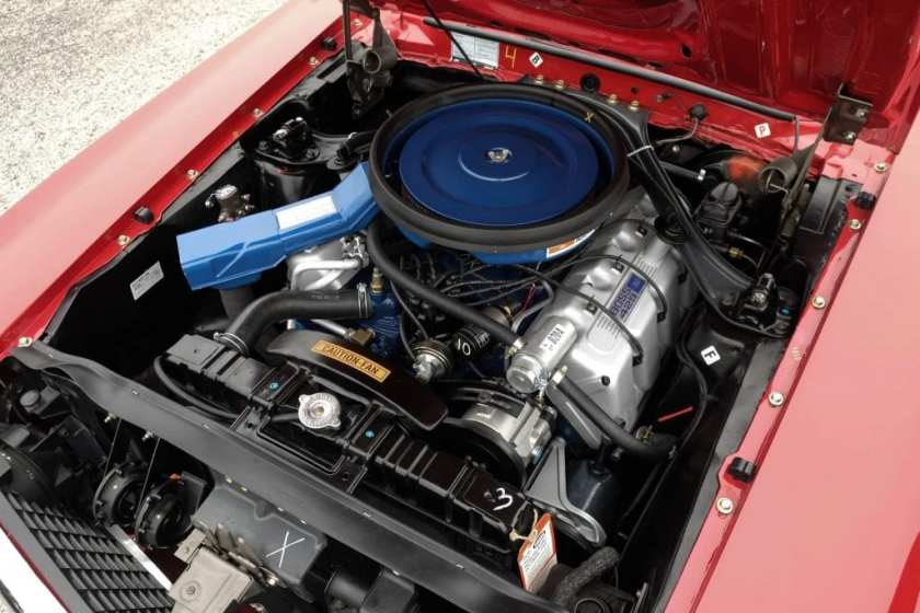 1969 Ford Mustang Boss 429 engine