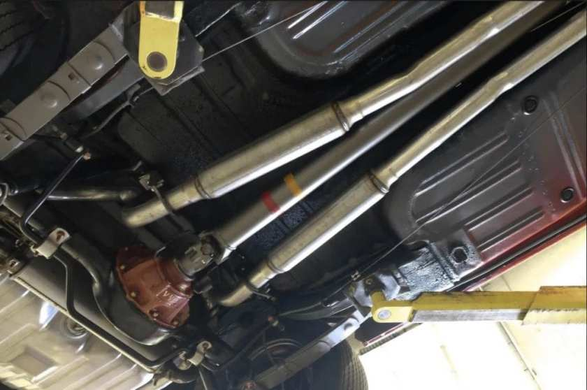 1969 Ford Mustang Boss 429 limited slip and driveshaft