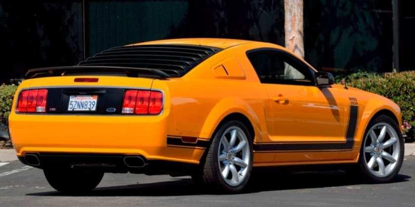 2007 Ford Mustang Saleen - Parnelli Jones