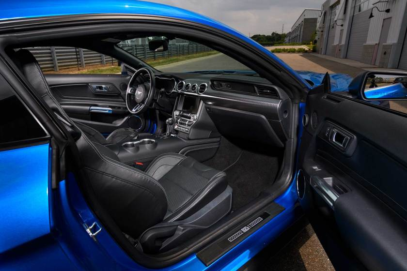 2021 Ford Mach 1 Interior