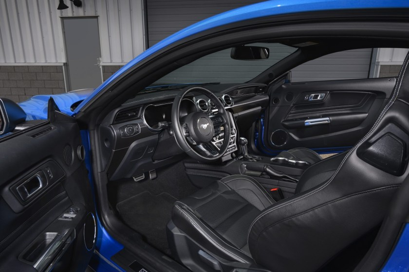 2021 Ford Mustang Mach 1 Interior View