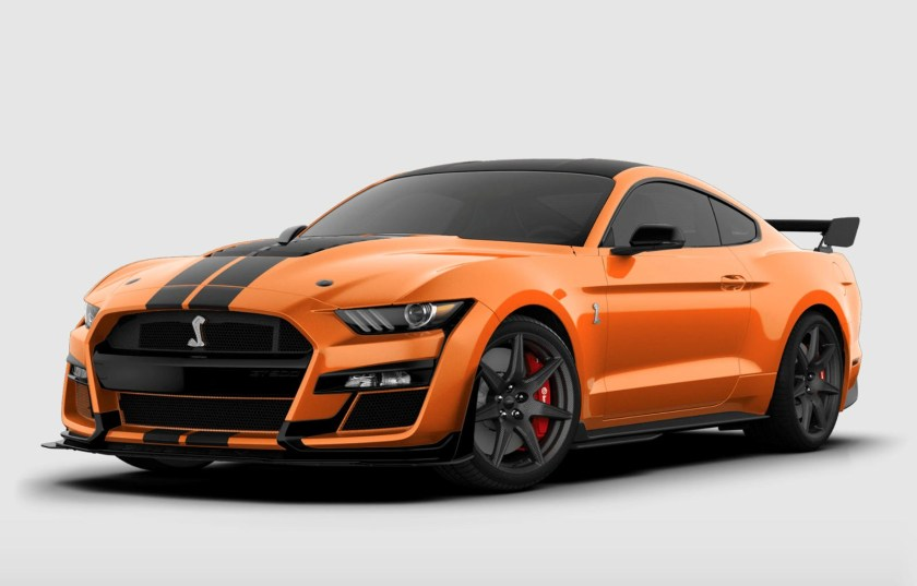 2021 Ford Mustang Shelby GT500 Twister Orange