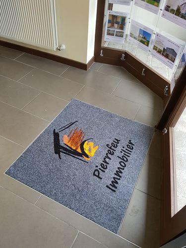 tapis d entree personnalise imprime