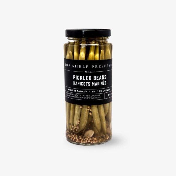 Top Shelf Preserves Pickled Beans