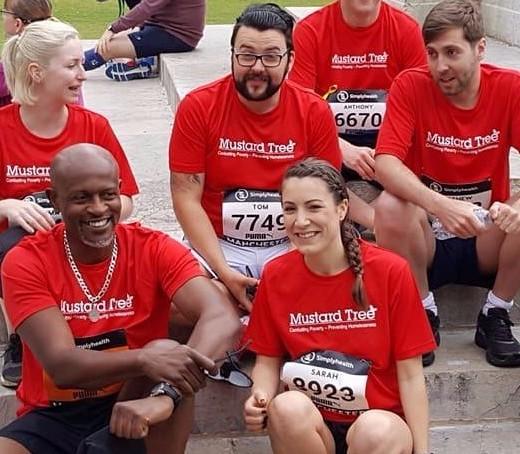 Run the Manchester Marathon with Team Mustard!