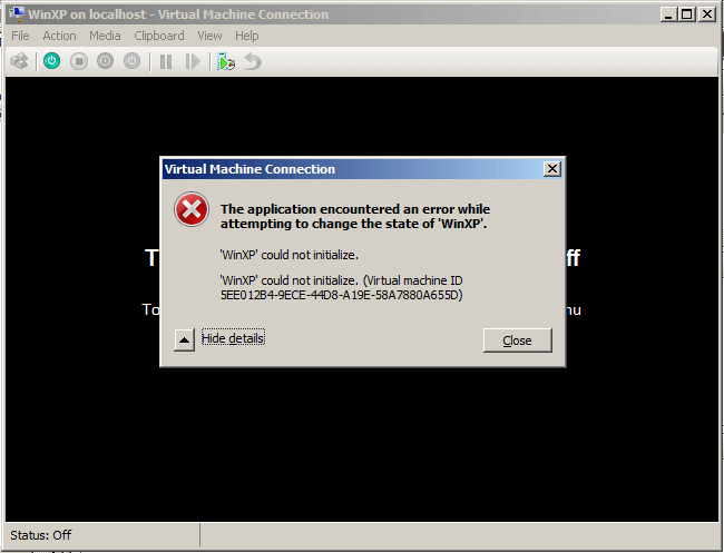 Installing Hyper V in VMware Workstation 9