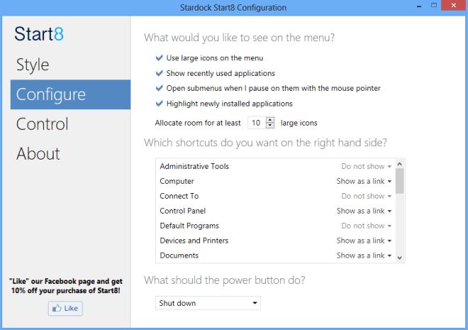 Best Start Menu for Microsoft Windows 8
