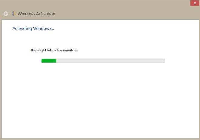 Activate Windows 8 Product