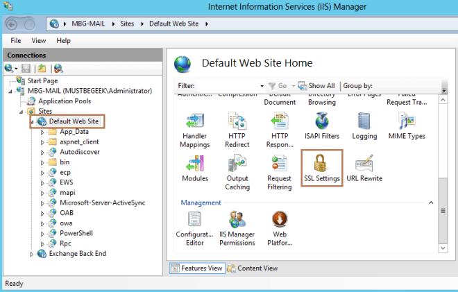 Configure URL Redirection in Exchange 2013