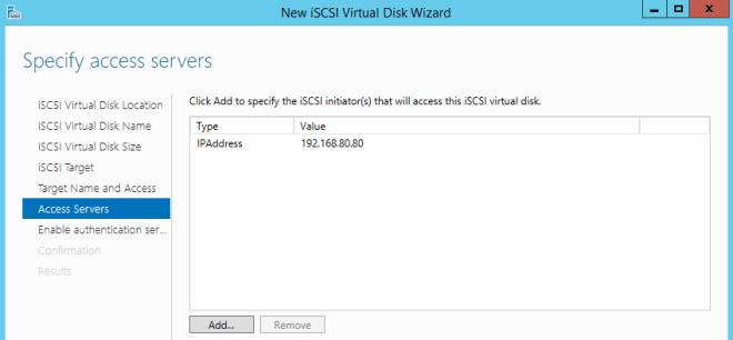 List of Access Servers