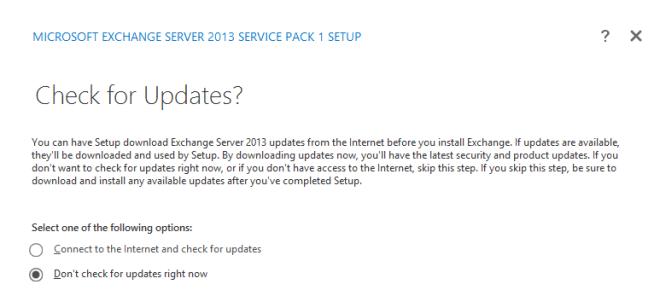 1. Exchange Update