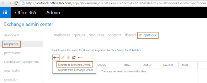 Cutover Migration from Exchange 2016 to Office 365 (Part 2)