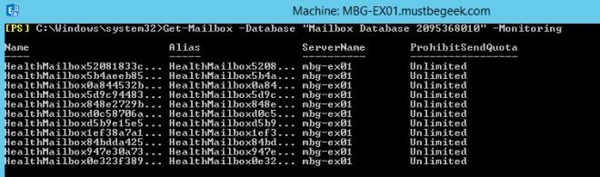 monitoring mailbox