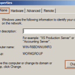 Rename Server Name in Windows Server 2008