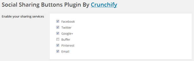 Add Social Sharing Buttons with Crunchify Social Sharing Plugin
