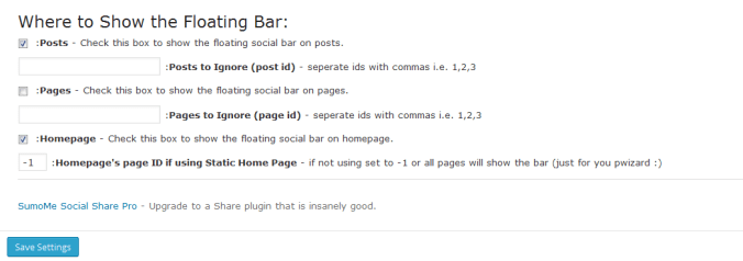 Setup Digg Digg Alternative Social Sharing Plugin in WordPress