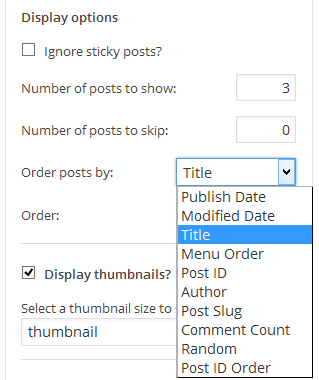 Show Related Posts in WordPress with Flexible Posts Widget Plugin