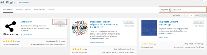 How to Backup your WordPress Site with Duplicator Plugin