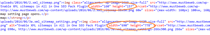 Remove Automatic Dimensions from WordPress Image Attachment