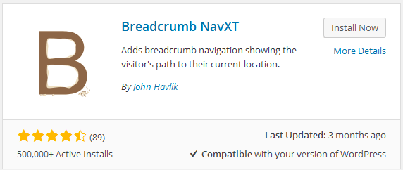 bread crumb navxt -- The Better Ways to Use Tags and Categories in WordPress