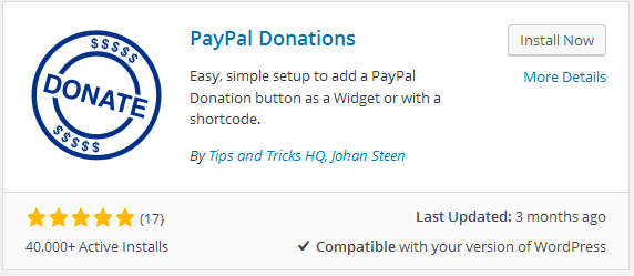 How to Integrate PayPal Donate Button in WordPress