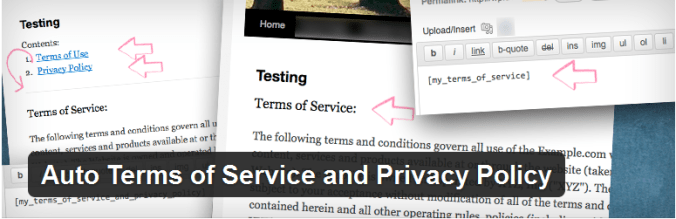 terms-privacy-policy Adding Adults Only Age Verification in WordPress Site