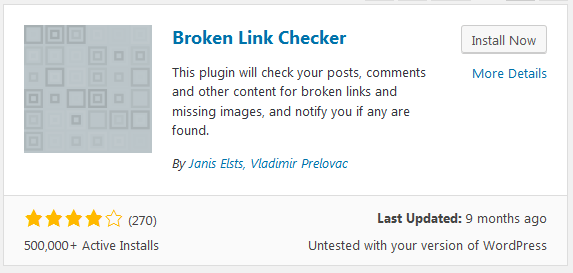 broken-link-checker What is 404 Error in WordPress