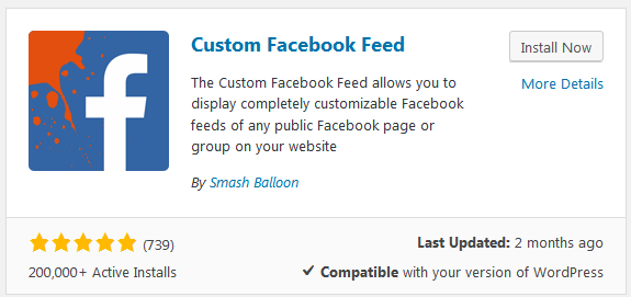 How to Display Custom Facebook Feeds in WordPress Website