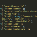 Guide to adding Theme Features in WordPress using add_theme_support Function