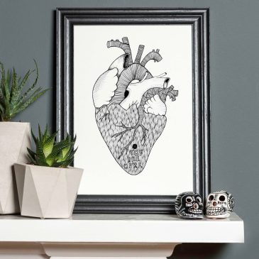 Heart – A4 Unframed Print