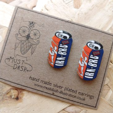 Irn Bru Earrings