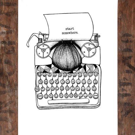 Typewriter flat 2