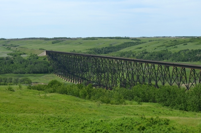 Wainwright Trestle Bridge