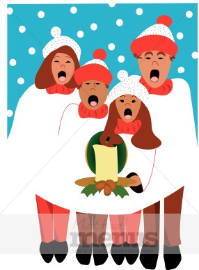 Caroler Clipart Holiday Clipart Archive