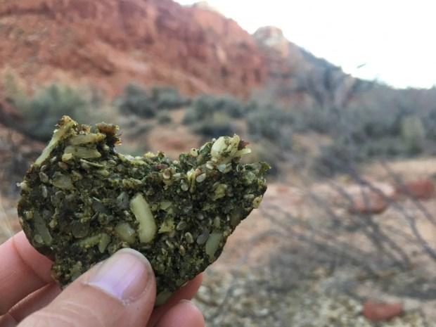 Savory Kale Stone Age Bread