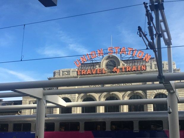 Union Station Downtown Denver Colorado #travel #layover #glutenfree #outdoors