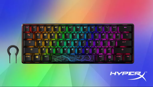 HyperX Alloy Origins 60 mechanical keyboard